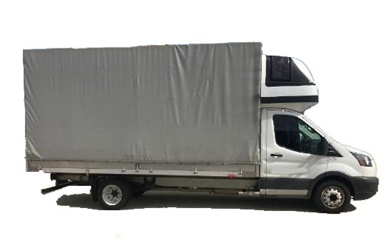 Small Straight Conestoga Truck