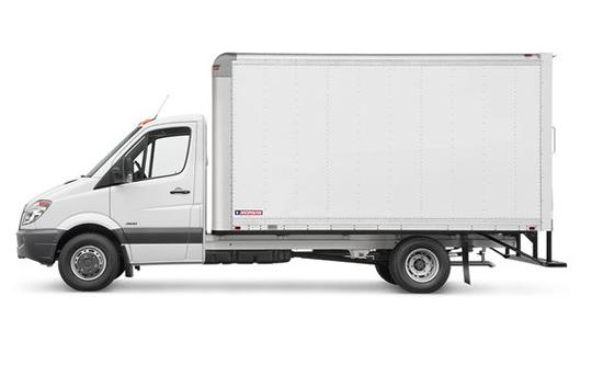 Small Straight Box Truck